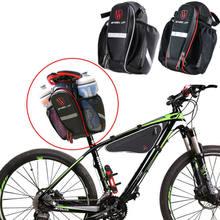 Rowerowa torba pod siodełko pod schowek w fotelu tylna torba rowerowa tylna paczka Crossbody Bag