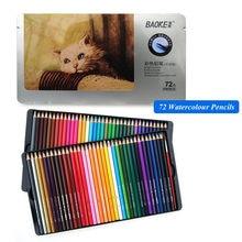 Lápis colorido lápis de arte fina lápis de cor 72 núcleos profissional lápis de cor 72 lápis de lápis de cor artista lápis de esboço por atacado