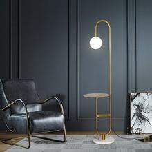 Креативная современная простая гостиная Напольная Лампа в скандинавском стиле стеклянный светодиодный светильник для спальни гостиничного номера чайные настольные торшеры домашний декор