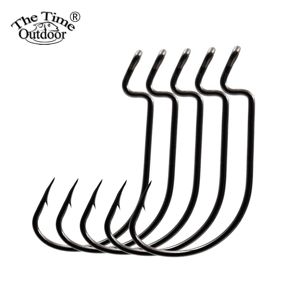 10 шт. SENKO мягкий червь колючая Высокоуглеродистая сталь рыболовный крючок для окуня форели щуки Краппи силиконовые приманки рыболовные крю...
