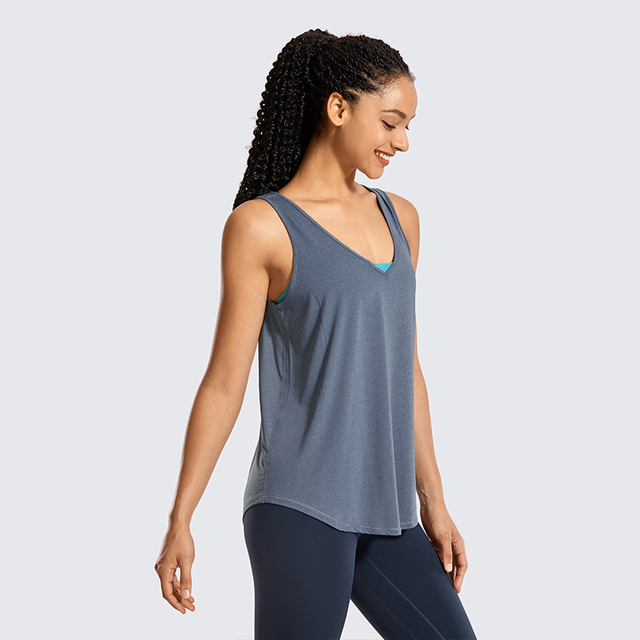 Lightweight Workout Tanks Tops Loose Fit