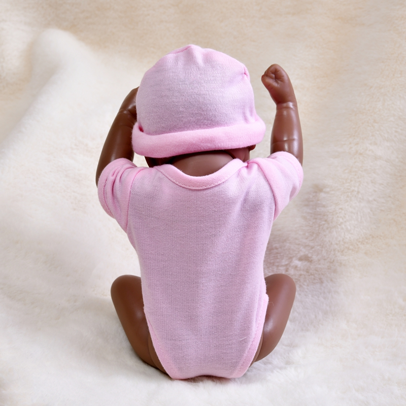 Детский младенец реборн 10 дюймов маленький силиконовый полноразмерный