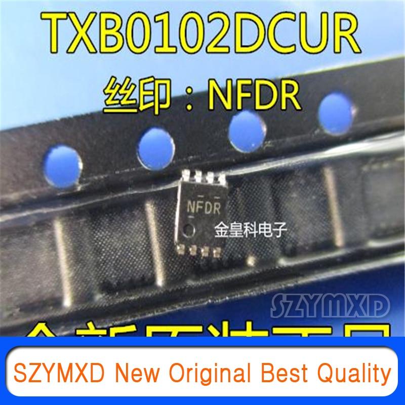 10 шт./лот новый оригинальный Txb0102dcurtxb0102 шелковой ширмы NFDR двойной преобразователь питания VSSOP8 импортная оригинальная в наличии
