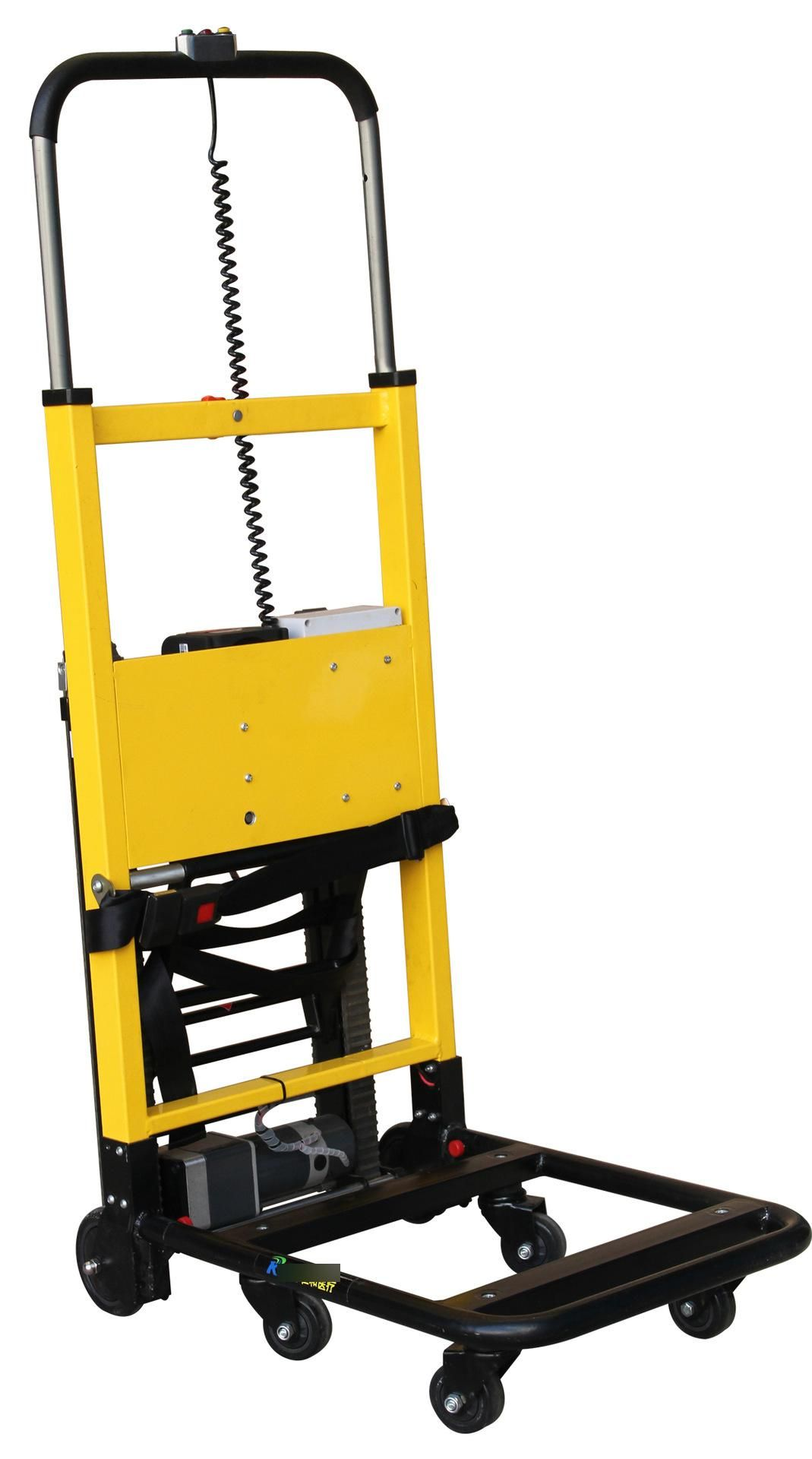 Electric Battery Stair Lifting Vehicle Stair Climbing Trolley Stairs Deliver Goods Electric Stair Climbing Vehicle