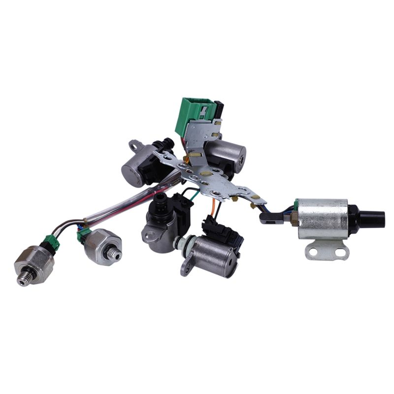 Valve Body Solenoids Kit Gearbox Solenoid Valve Wire Speed For Nissan Altima Sentra Rogue CVT JF011E RE0F10A RE0F10E F1CJA 33446