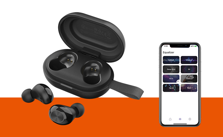 [APP Version] Tronsmart Spunky Beat Bluetooth TWS Earphone APTX Wireless Earbuds with QualcommChip, CVC 8.0, Touch Control (1)