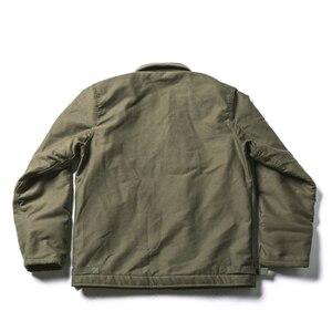 Image 2 - Куртка Bronson USN, винтажная куртка в стиле джунглей для холодной погоды, A 2