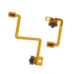 Image 2 - 1 Bộ Thay Thế Chất Lượng Cao Phần L R Nút Cáp LR Công Tắc Dây Dẹt LR Cáp Cho 3DS