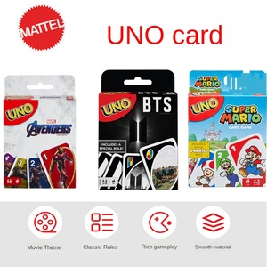 MATTEL UNO Puzzle Games Family Funny Entertainment Board Game Fun Poker UNO Playing Cards Gift Box