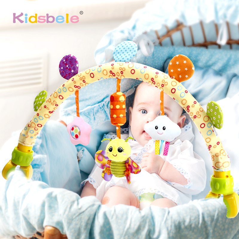 Infant Toys Stroller Hanging Toys For Baby Crib Rattles 0 12 Months Education Developmental Kids Toy For Newborns