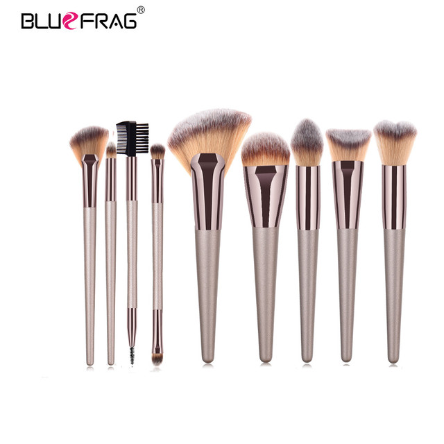 BLUEFRAG Makeup Brushes Tool Set Of Make Up Brushes 6-19Pcs Powder Eye Shadow Foundation Blush Blending Beauty Brush Maquiagem 5