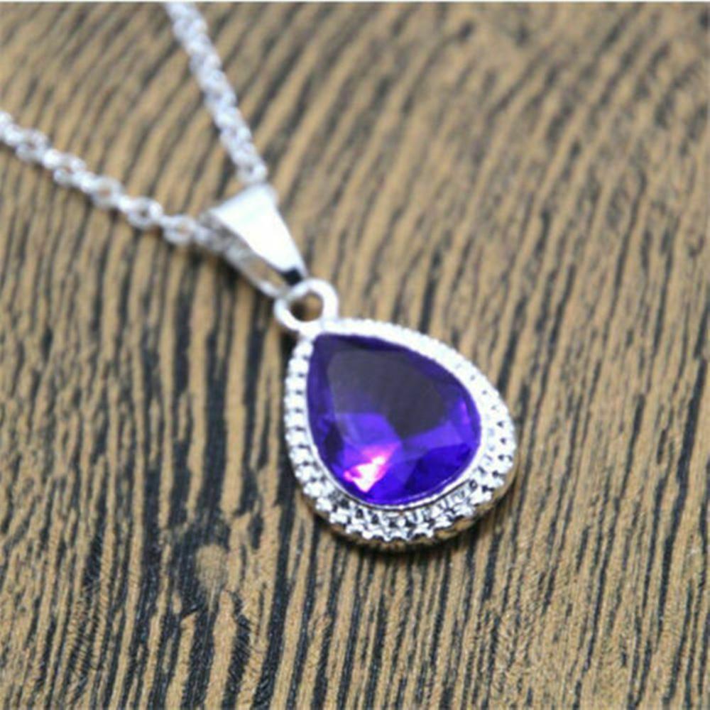 Ожерелье принцессы Sofias, ожерелье из фиолетового горного хрусталя, первая бижутерия для костюма