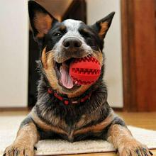 Pet Sof Dog Toys Funny Toy Interactive Elasticity Ball Chew For Clean Tooth Food Rubber Extra-resistan