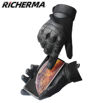 touch screen cold weather waterproof windproof winter warmer fleece snowboard bicycle tactical hard knuckle full finger gloves Motorcycle Gloves Touchscreen Full Finger Hard Knuckle Leather Winter Summer Motocross Motorbike Moto Biker Riding Cold Weather