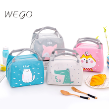 Package Lunch-Bag Small Cartoon-Bags Insulation School Portable Student Outdoor Work-Thickening
