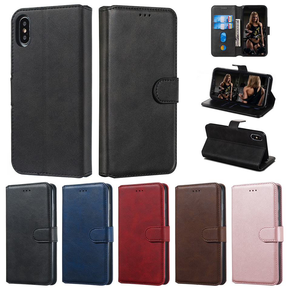 <font><b>Flip</b></font> Case For VIVO Y83 Y81 Y91i Y91C Stand Wallet <font><b>Cover</b></font> For <font><b>Oppo</b></font> A59 F1s A83 A1 A73 F5 A5s AX5s A5 AX5 A3s <font><b>F9</b></font> Pro A9 F11 Coque image