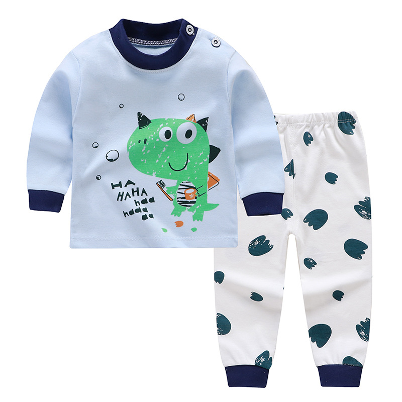 Baby Boy Clothing sets Cotton Cartoon Dinosaur Monkey Printed Children Pajamas  Set Baby boys pajama suits sleepwear shirt+Pants|baby boy clothing|boys  clothingbaby boy clothing set - AliExpress