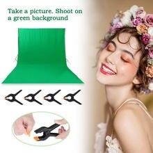 Arrière-plan de photographie avec écran vert, arrière-plan professionnel en Fiber de Polyester et mousseline pour Studio Photo