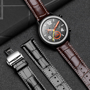 22mm leather strap for huawei