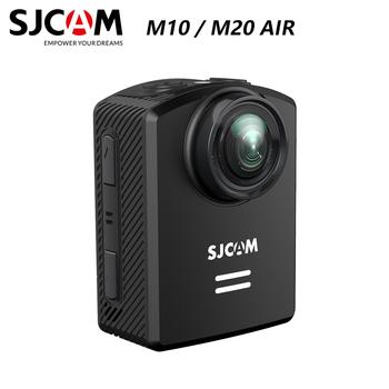 Oryginalna kamera akcji SJCAM M10 M20 Full HD 1080P 170 stopni Mini nurkowanie 30M wodoodporna kamera Mini kamera sportowa DV tanie i dobre opinie Inne Serii SONY Novatek96655 (1080 P 30FPS) O 12MP 900mAh 1 2 84 Dla Domu Sporty ekstremalne Odkryty sport działania Rowerów