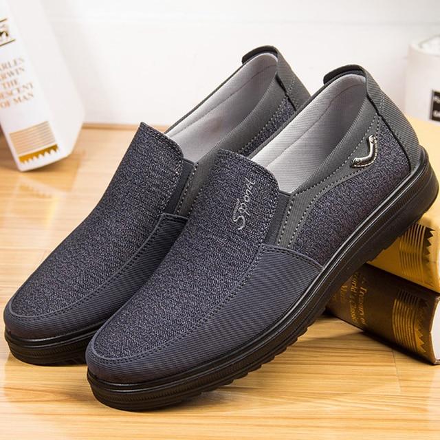 Парусиновые мужские туфли 6
