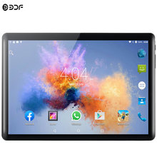 2020 New Tablet Pc 10.1 inch Android 7.0 Google Play 3G Phone Call Tablets WiFi Bluetooth GPS 2.5D Tempered Glass 10 inch Tablet(China)