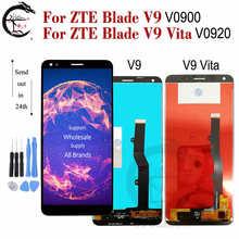 LCD สำหรับ ZTE ใบมีด V9 V0900 จอแสดงผล LCD V9 Vita V0920 หน้าจอ LCD TOUCH Digitizer ASSEMBLY เปลี่ยน V9 จอแสดงผล V9vita หน้าจอ
