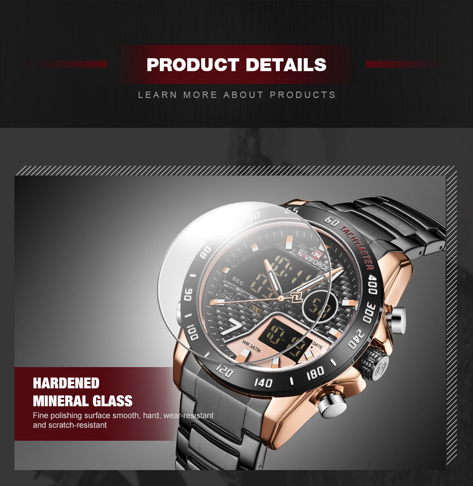 Naviforce NF 9171 Fashion Quartz Watch 9