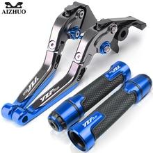 อุปกรณ์เสริมรถจักรยานยนต์Grips Gripsคลัทช์เบรคสำหรับYAMAHA YZF R125 YZFR125 R 125 เบรคLevers
