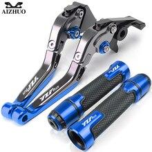 Leviers de frein et dembrayage avec poignées pour moto YAMAHA YZF R125 et YZFR125 R 125, accessoires pour moto
