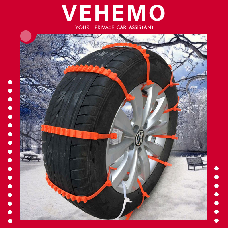 10 PCS Lot Car Universal Anti-Skid Chains Mini Plastic Winter Tyres wheels Snow Chains For Cars/Suv Car-Styling Anti-Skid image