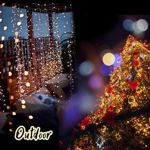 Image 5 - Guirlande lumineuse Led pour noël, décoration de fête de mariage, éclairage de vacances