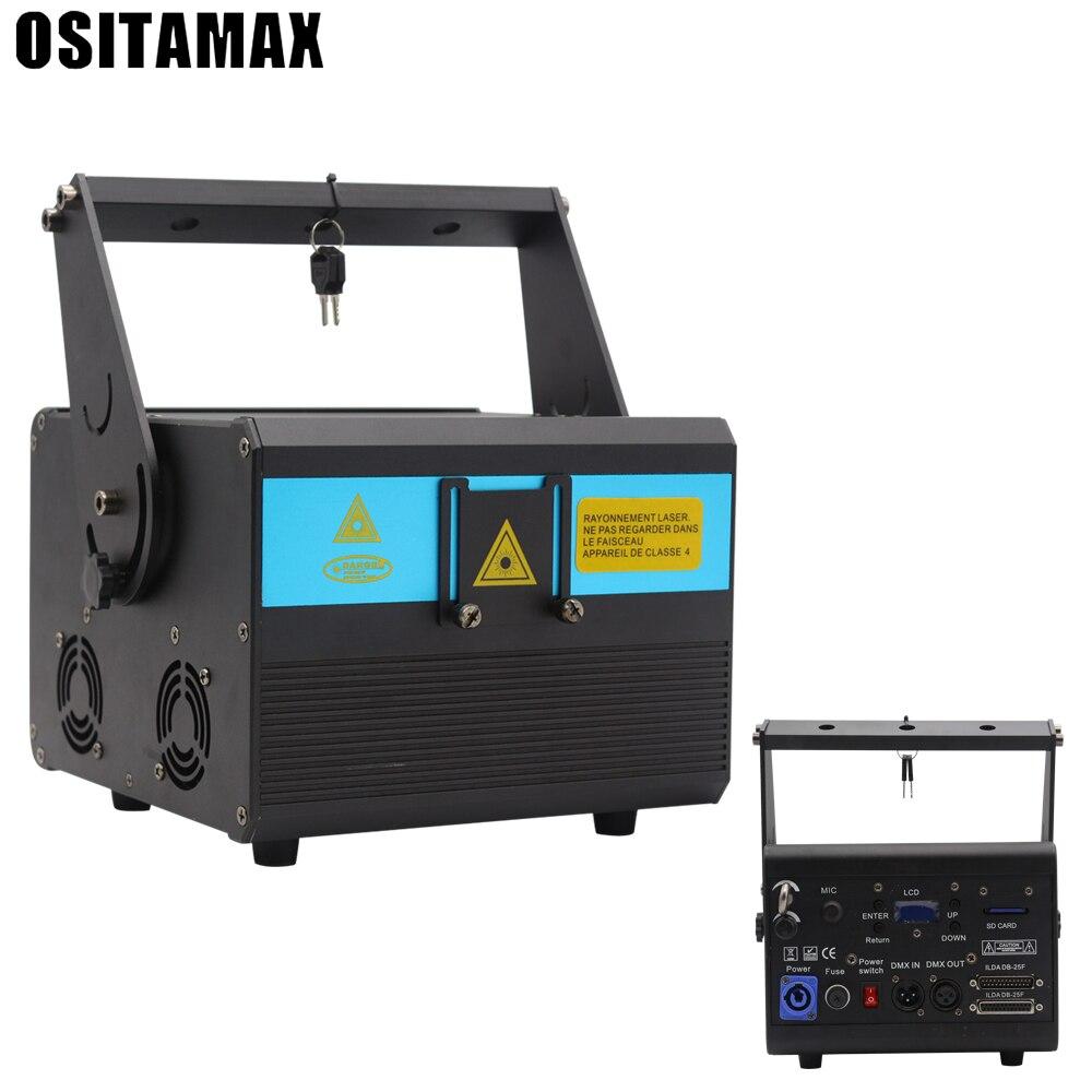 5W(3/4/8/10W) RGB Laser Projector Lighting Stage Disco DJ Club KTV Xmas Bar Family Party Light Show