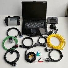 Для BMW Icom A2+ B+ C Mb Star C4 SD Compact 4 с программным обеспечением V12. в 1 ТБ SSD и б/у CF-52 4g для авто диагностический инструмент