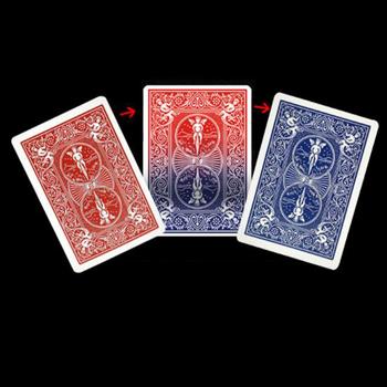 Magiczne sztuczki obudzić kolor zmiana karty do pokera magiczne rekwizyty bliska rekwizyty zmieniające kolor karty do gry magiczne rekwizyty tanie i dobre opinie EHBqna Papier CN (pochodzenie) 7-12y 12 + y Unisex Jeden rozmiar Change By Lloyd Barnes Beginner Nauka Profesjonalne Dla magików