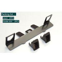 Universal Car Child Safety Seat Belt Steel Bracket Mount Base for ISOFIX Latch Y51C