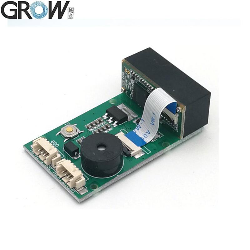 GROW GM67 1D 2D USB UART штрих код Qr сканер считыватель модулей для Android|Устройство для дактилоскопического распознавания|   | АлиЭкспресс