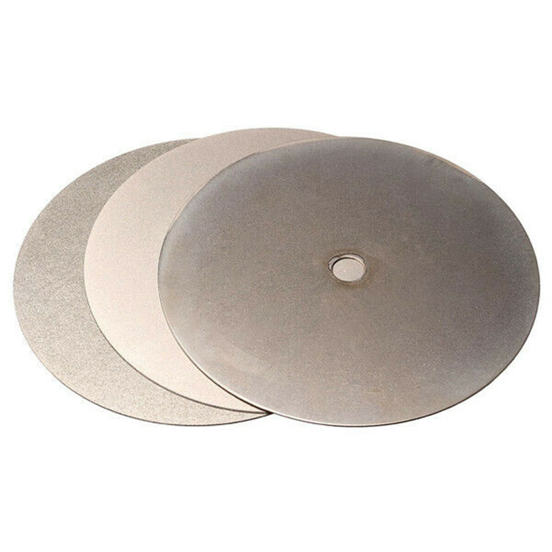 3Pcs <font><b>6</b></font> Inch 240 <font><b>600</b></font> 3000 Grit Diamond Grinding Wheel Disc for Grinding Pad Tool Power Tool Accessories image