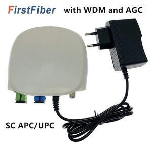 Image 1 - Оптоволоконный приемник FTTH SC APC/UPC с WDM и AGC, Внутренний оптический приемник с белым пластиковым чехлом
