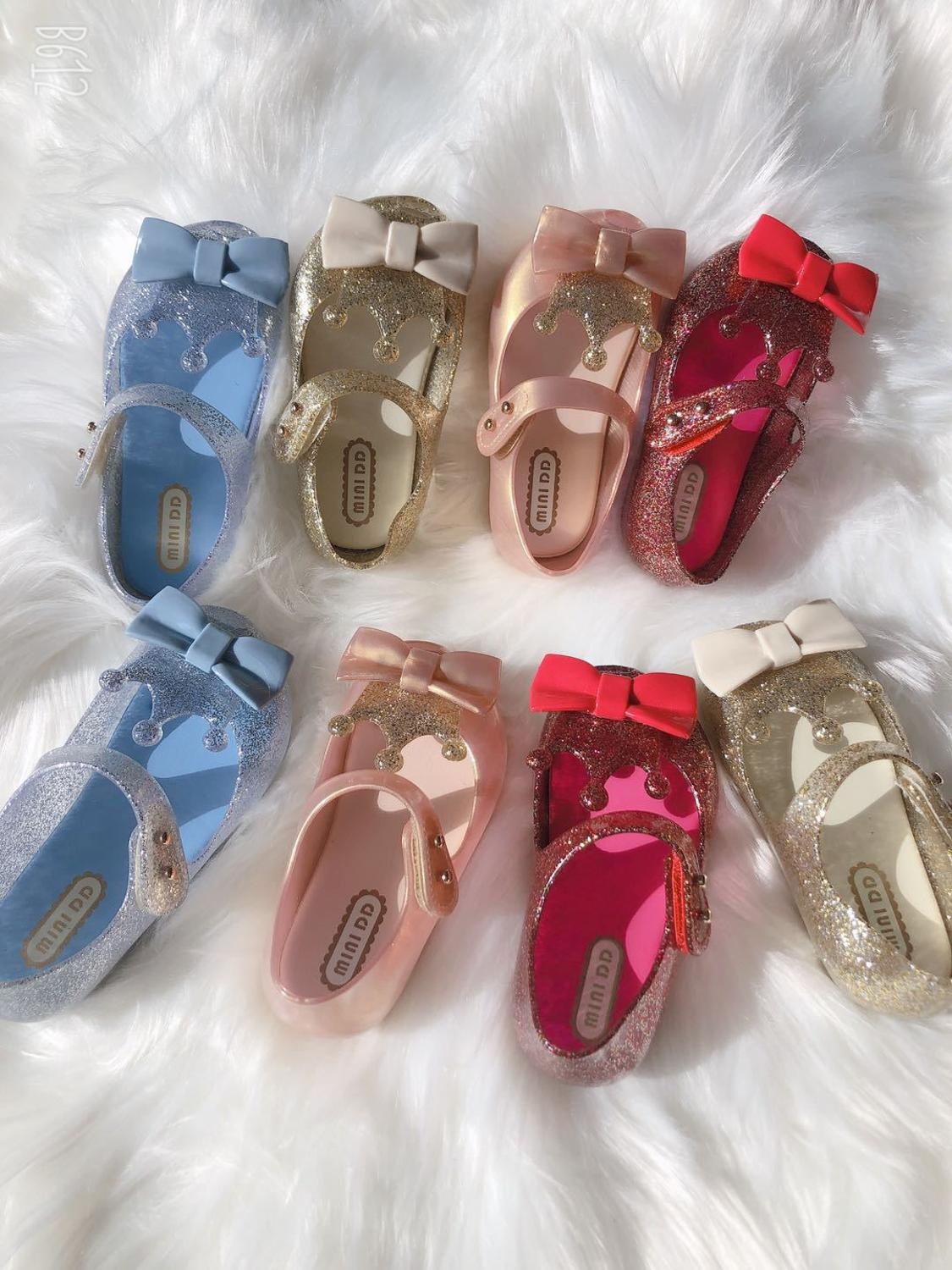 Kids Girl 2020 new Crown Jelly Sandals