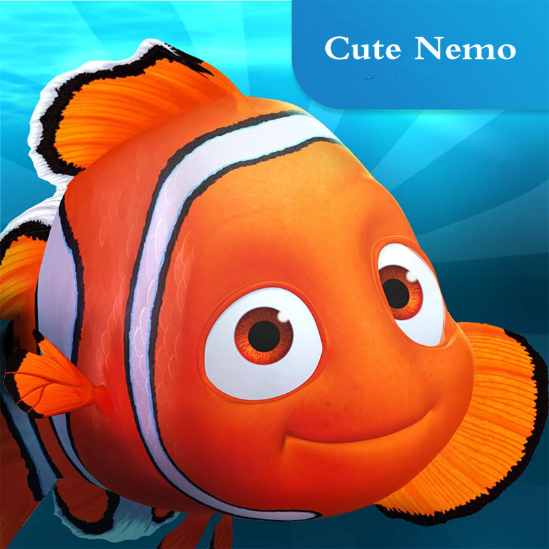NewStyle Bigger Nemo Float Spray Water For Bathroom Toys Baby Bath Toys Soft Bathroom   Fish Bath Figure  Toy For Children