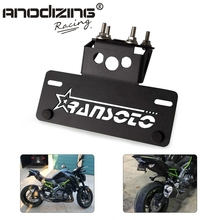 Motorcycle Fender License Holder Eliminator License Plate Frame Bracket For KAWASAKI Z900 Z 900 2017 2018 2019 2020