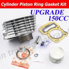 Motorcycle Cylinder Piston Ring Gasket Kit for Honda XR 125 L NXR125 XR125L BROS 62mm Big Bore Modification