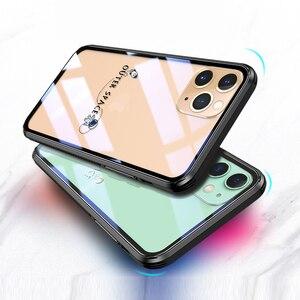 Image 5 - 強化ガラス電話ケース iphone 11 プロマックス 6.5 6.1 保護 transparant ケース iphone 11 pro のガラスシェルカバー