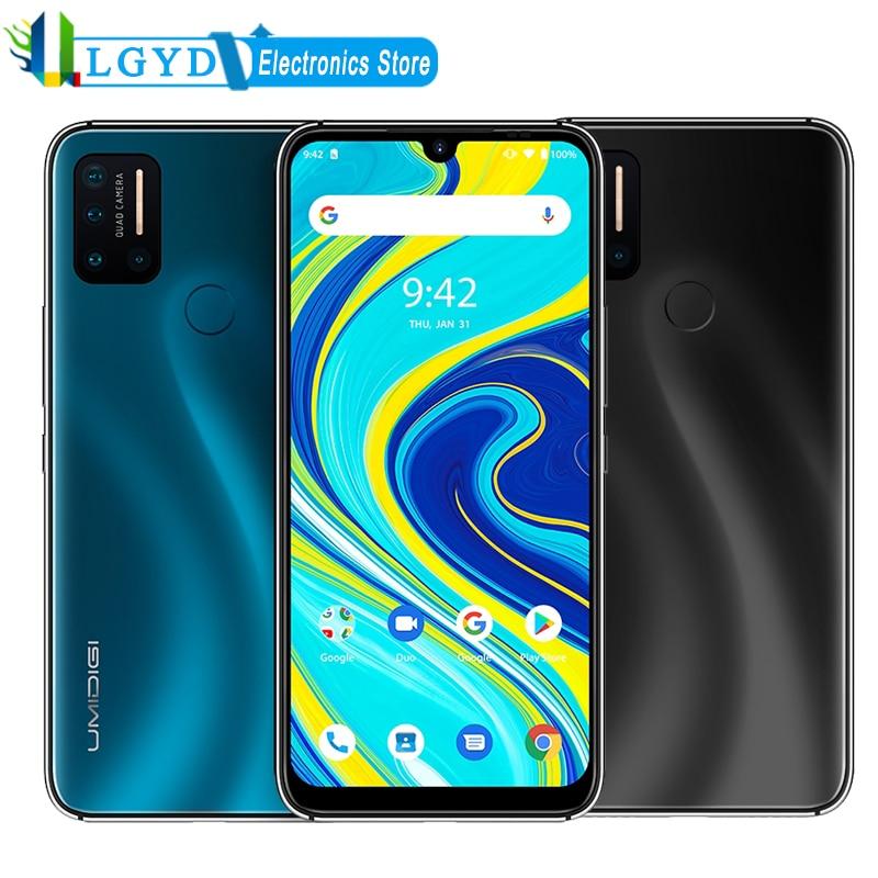 "Global 4G UMIDIGI A7 Pro Phone Quad Camera Andriod 10 6.3"" FHD+ Screen 4GB RAM 64GB/128GB ROM Octa Core Dual SIM Mobile Phone|Cellphones|   - AliExpress"