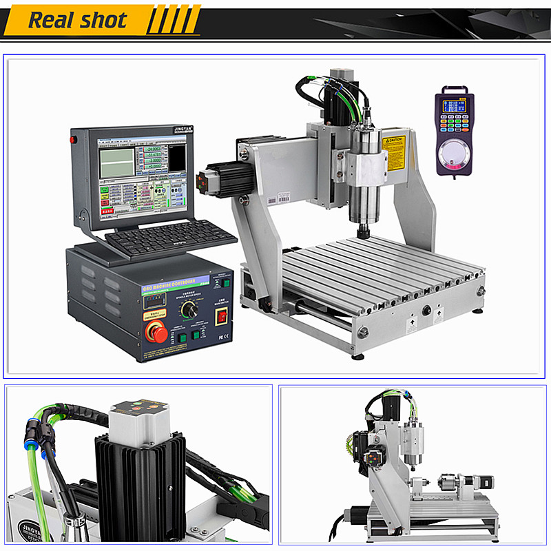 CNC Router Engraver Industrial Advanced High Precision 3040 3axis 4axis 1.5KW 2.2KW Engraving Machine
