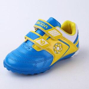 Image 2 - BLOON zapatos de fútbol para niños, calzado de fútbol para interiores, botas de fútbol deportivas, zapatillas de deporte para niñas y niños, sala de fútbol