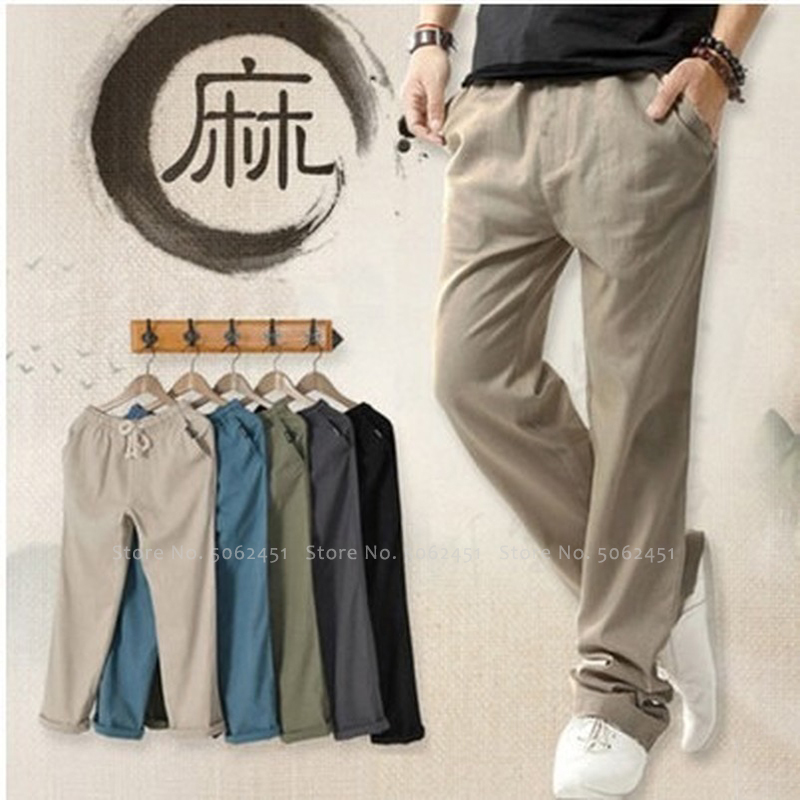 Women Chinese Style Kung Fu Wide Leg Loose Pants Tang Suit Hanfu Bottoms Japanese Casual Linen Cotton Trousers Tai Chi Uniforms