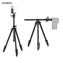 Andoer Q160Hカメラ三脚水平マウント専門の旅行三脚パノラマボールヘッドデジタル一眼レフildcデュアルカメラスマートフォン