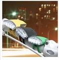 Велосипедный фонарик-лягушка милые 4LED фары Горный велосипед силиконовый свет Usb зарядка сигнальные огни задние фары для езды ночью безопас...